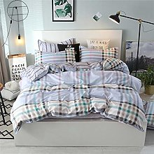 DGSDFGAH Bed Sheets Set,4 Pcs Silky Soft Duvet