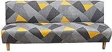 DGSGBAS Armless Sofa Cover 3/2 Seater Armless