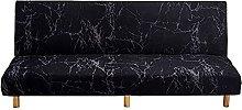 DGSGBAS Armless Sofa Slipcover Protector Sofa Bed