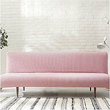 DGSGBAS Futon Cover Armless Sofa Bed Cover 3/2