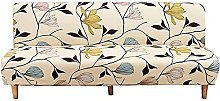 DGSGBAS Sofa Bed Covers Armless 3/2 Seater Single