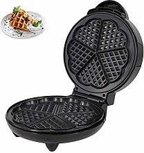 DHHZRKJ Electric Waffle Maker, 5 Heart-Shaped