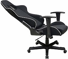 DHTOMC Fabric Fabric Office Chair Adjustable High