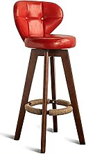 DHZYY Bar Stool,Bar Stool Footstool with Backrest