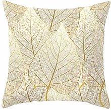 Diadia 4PC Gold Printing Pillow Case Decorative