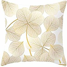 Diadia 4PC Gold Printing Pillow Case Decorative