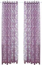 Diadia Beauty Rural Style Curtain Short Sheer Tie