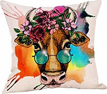 Diadia Upholstery Cozy Printing Pillow Case