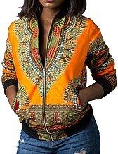 Diadia Women Dashiki Long Sleeve Fashion African