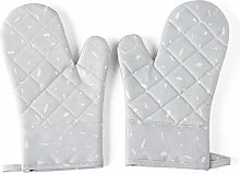 DIAK Oven Gloves Canvas Gloves, With Silicone