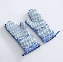 DIAK oven gloves, with cotton lining and silicone