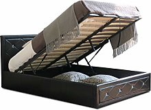 Diamante New Hollywood BED Frame Small Double in