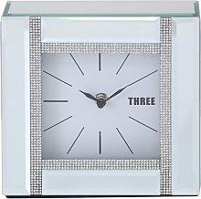 Diamantie Table Clock Rosdorf Park