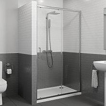 Diamond 1200mm Framed Sliding Shower Door - 8mm
