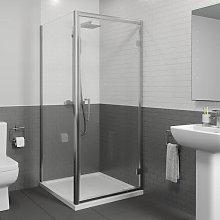 Diamond 760mm x 760mm Hinged Shower Door &