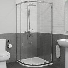 Diamond 800mm Framed Quadrant Shower Enclosure -
