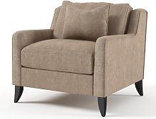 Diamond Armchair ClassicLiving Upholstery: Beige