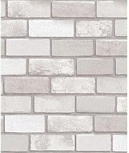 Diamond Brick 10.05m x 53cm Wallpaper Roll East
