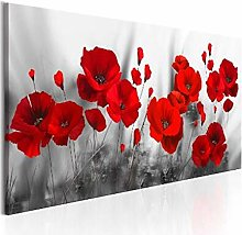 Diamond Painting by Number Kits, red Poppy Flower