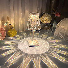 Diamond Table Lamp Crystal Table Lamp LED Bedside
