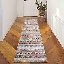 Diamond Trellis Patchwork Hallway Entrance Carpet