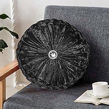 Diamond Velvet Cushion Stitched Small Filled Sofa