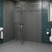 Diamond Wet Room Screens 1400mm and 700mm with