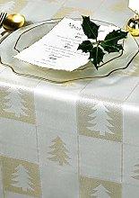 Diana Cowpe CREAM & GOLD Merry Christmas XMAS Tree