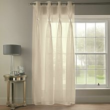 Diana Dolly Diamante Ring Top Curtain Panel