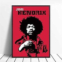 dianshangpuzi Jimi Hendrix Poster Print Famous