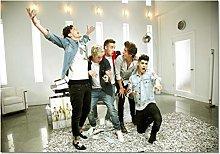 dianshangpuzi One Direction Canvas Poster Wall