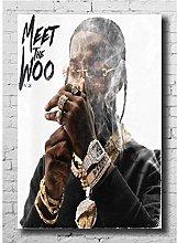 dianshangpuzi Pop Smoke Young Rapper Meet The Woo