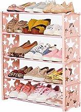 DIAOD Children's Shoe Rack, Assembled Simple