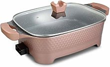 DIAOD Electric Hot Pot, BBQ Grill Multi-Function
