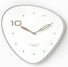 DIAOD Wall Clock Creative Pink Silent Fashion Wall