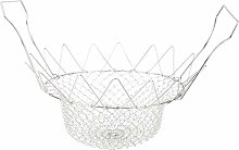 Dibiao Folding Fry Basket Stainless Steel Steaming