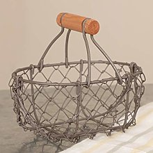 Dibor Brown Woven Wire Trug Confectionery Sweet