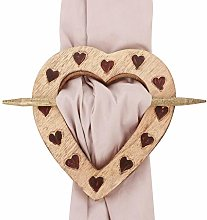 Dibor Heart Curtain Tie - Bedroom Living Room
