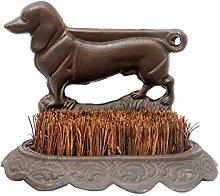 Dibor Heavyweight Antique Brown Dachshund Dog Cast