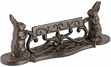 Dibor Metal Door Mat Boot Scraper - Cast Iron