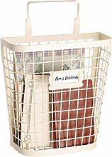 Dibor Wall Mounted Magazine Basket Copper Storage