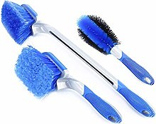 didatecar 3pcs Car Cleaning Kit Wheel Cleaning