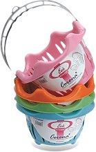 Digi Plast S.N.C. Clothes Peg Basket with Handle,