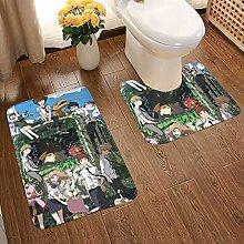 Digimon Adventure Soft Flannel Floor Mats Carpets