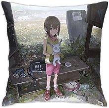 Digimon Adventure Square Pillowcase Soft Plush