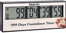 Digital 999 Days Countdown Clock Timer Event
