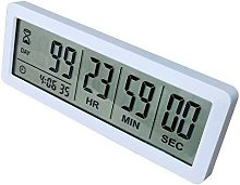 Digital 999 Days Countdown Timer Magnetic Backing