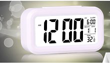 Digital Alarm Clock Electronic Clock LED Battery