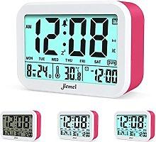 Digital Alarm Clock, Jiemei Talking Alarm Clocks