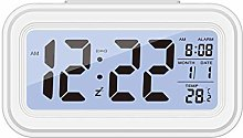 Digital Alarm Clock Large LED Display Snooze Clock